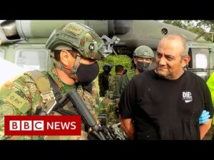 Colombia's most wanted drug lord captured – BBC News