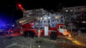 Gas explosion at residential building in central Russia injures six people