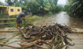 Hurricane Rick weakens but still poses a flooding threat to Mexico