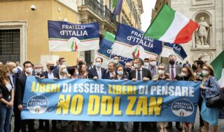 Italy's senate rejects divisive bill aimed at fighting homophobia