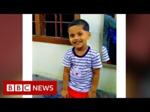 Kerala floods: 'Our son was buried by mud – we couldn't save him' – BBC News