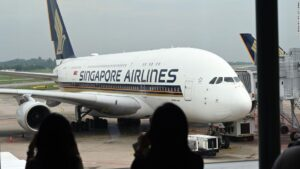 Singapore Airlines to fly A380 on 60-minute flight