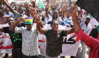 Sudan: Government officials detained, phones down in possible coup