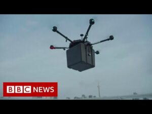 Transplant lungs transported via drone in 'world first' – BBC News