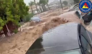 Two dead in Sicily as heavy rain causes flash floods