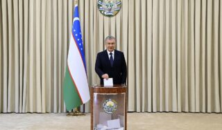 Uzbekistan leader wins second term in 'not truly competitive' election